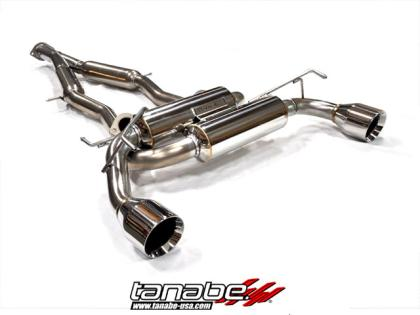 Tanabe Medallion Touring Dual Muffler Catback Exhaust 09-10 370Z