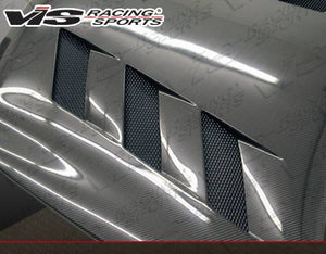 VIS Racing - Carbon Fiber Hood AMS Style for 370Z/G37