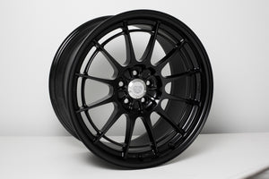 Enkei NT03+M 18x9.5 5x100 40mm Offset Black Wheel (Min Order Qty 40)
