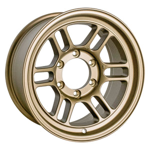 Enkei RPT1 16x8 6x139.7 Bolt Pattern +0 Offset 108.5 Bore Titanium Gold Wheel