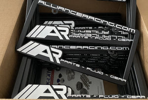 Alliance Racing License Plate Frame