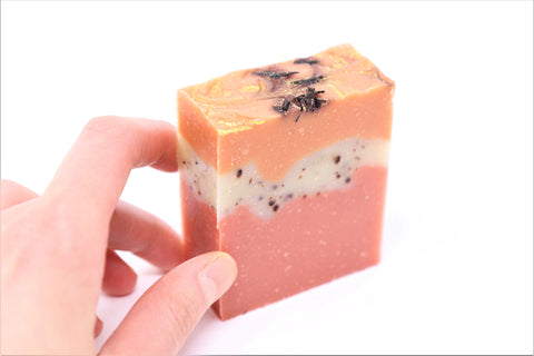 Patchouli, Orange Peel Oil & Sandalwood Handmade Soap in Canada Online | Patchouli Sandalwood | Special Soap | Natural Wonders