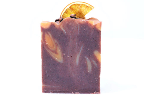 Grape Vine, Orange Peel Oil, Giner Oil, Cinnamon Tree & Clove Oil Handmade Soap in Canada Online | Sweet Sangria | Special Scrub Soap | Natural Wonders