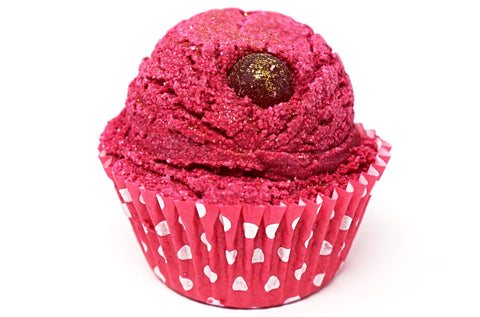 Shop Cranberry Champagne cupcake bath bombs in Canada | Natural Wonders | 100% Hand Made | Ultra Hydration | Dry and Itchy