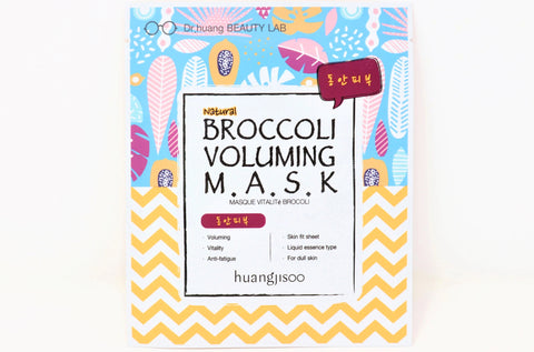 Shop online Natural Face Sheet Masks in Canada | Broccoli | Anti aging | Vegan | Dr. Huangjisoo | Natural Wonders