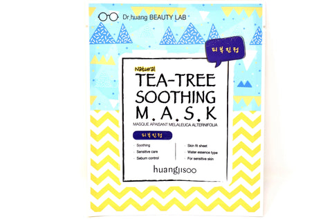 Shop online Natural Face Sheet Masks in Canada | Tea Tree | Soothing | Vegan | Dr. Huangjisoo | Natural Wonders