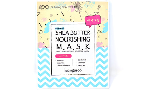 Shop online Natural Face Sheet Masks in Canada | Shea Butter | Nourishing | Vegan | Dr. Huangjisoo | Natural Wonders