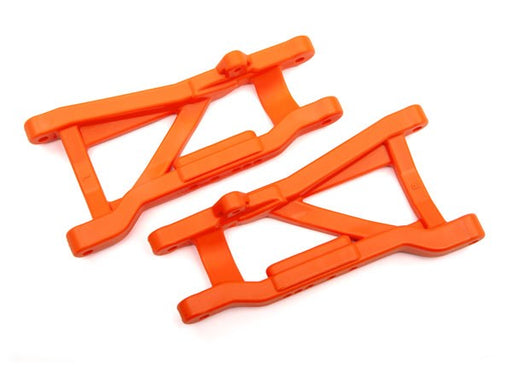 Traxxas 2555T - Suspension arms, orange, rear, heavy duty (2)