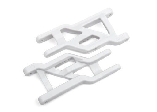 Traxxas 3631L - Suspension arms, white, front, heavy duty (2)