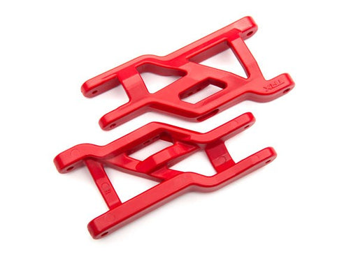 Traxxas 3631R - Suspension arms, red, front, heavy duty (2)
