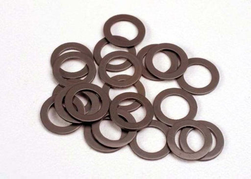 Traxxas 1985 - Ptfe-Coated Washers, 5X8X0.5Mm (20) (Use With Ball Bearings)