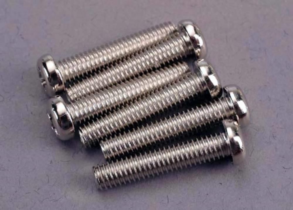 Traxxas 2570 - Screws, 4X20Mm Roundhead Machine (6)