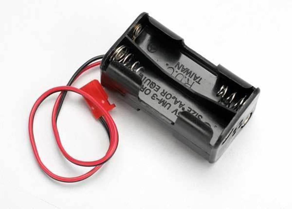 Traxxas 3039 - Battery Holder, 4-Cell (No On/Off Switch) (For Jato And Others That Use A Male Futaba Style Connector)