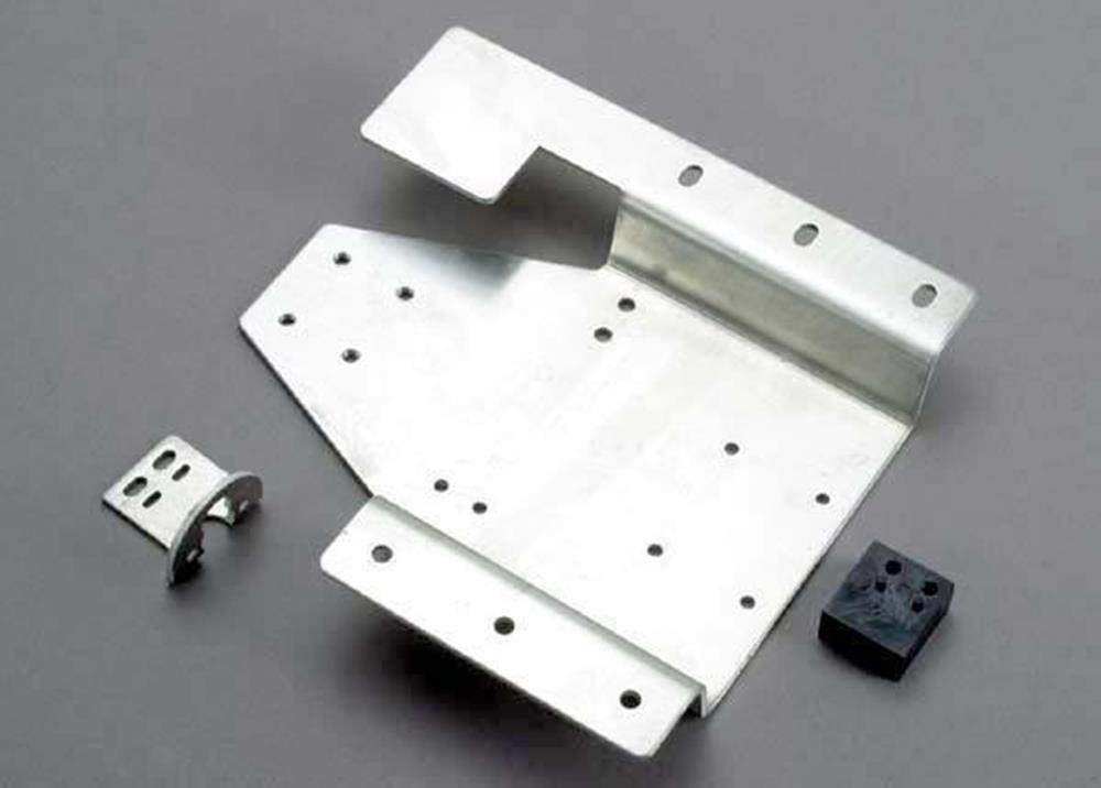 Traxxas 3561 - Tray, Aluminum Engine Mounting/ Rts Motor Mount/Gear Re
