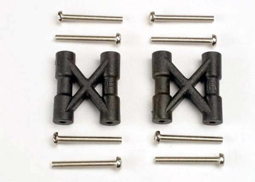 Traxxas 3930 - Bulkhead Cross Braces (2)/ 3X25Mm Cs Screws (8)