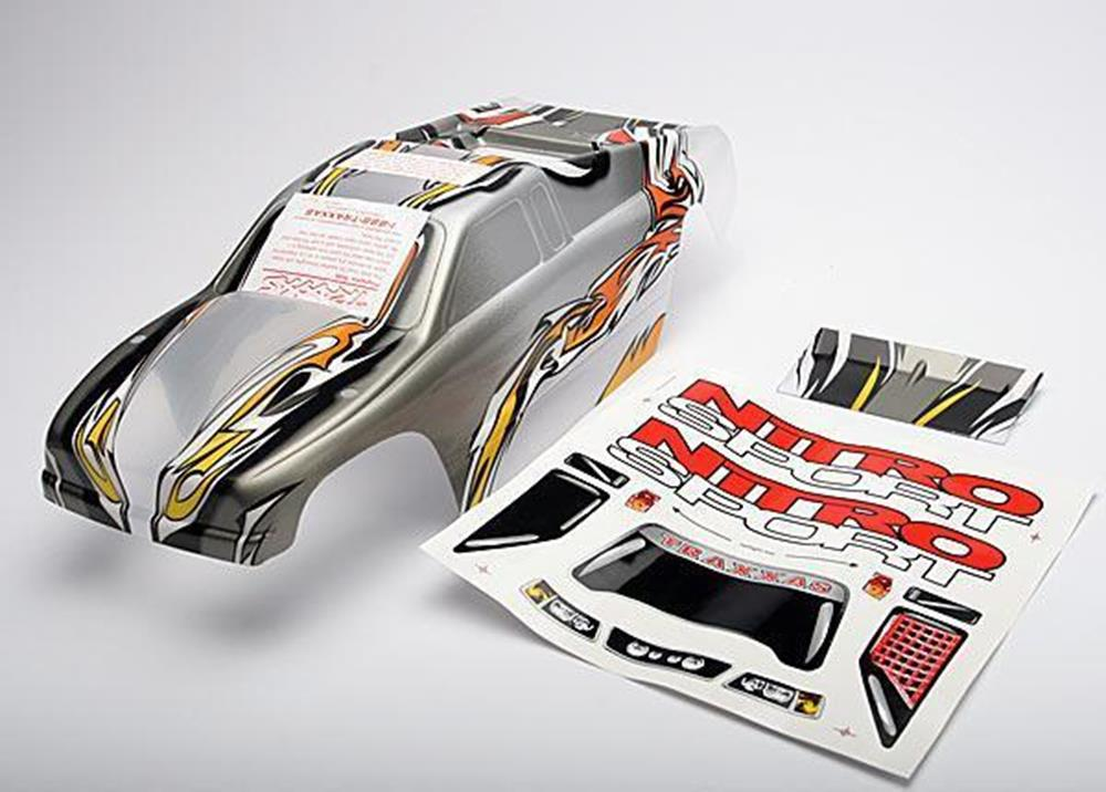 Traxxas 4512 - Body, Nitro Sport, Prographix (Replacement For The Pain