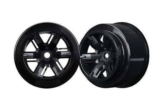 Traxxas 7771 - Wheels, X-Maxx, Black (Left & Right)