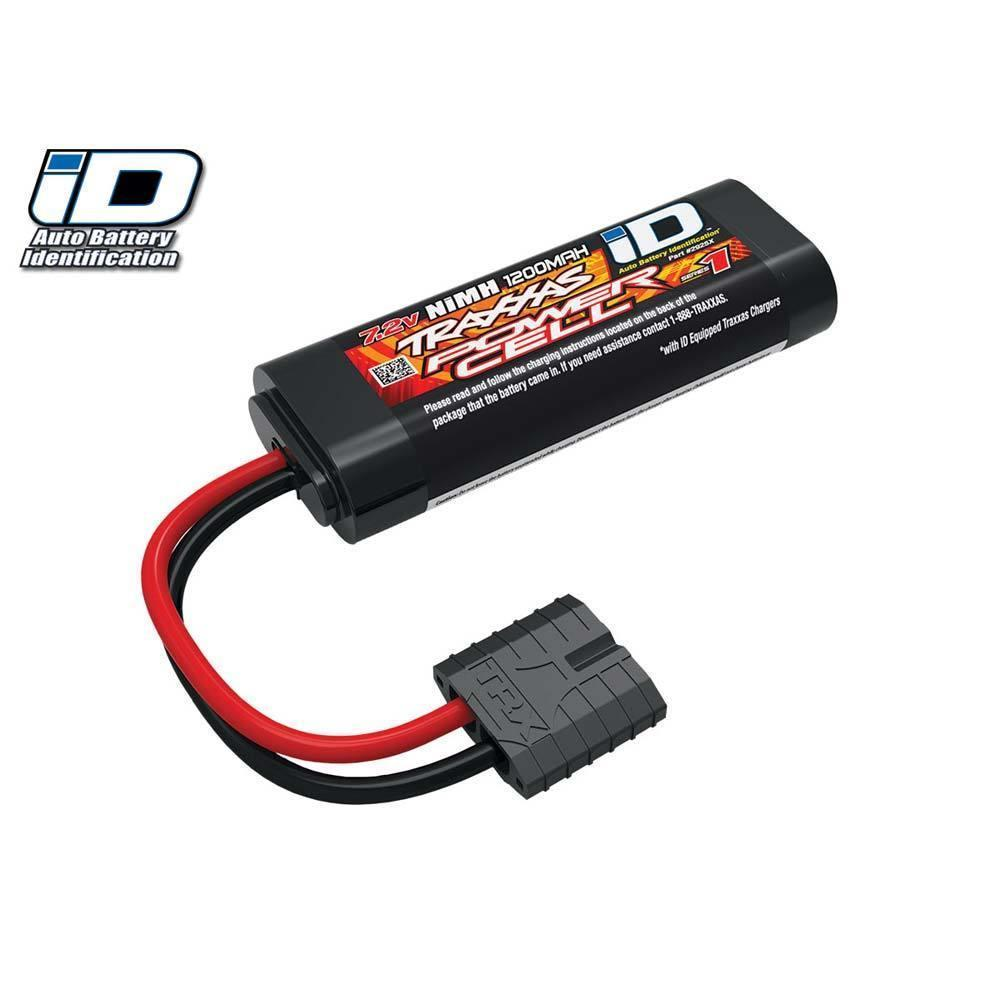 Traxxas 2925X - Battery Series 1 Power Cell, 1200mAh (NiMH, 6-C flat, 7.2V, 2/3A) w/iD Connector