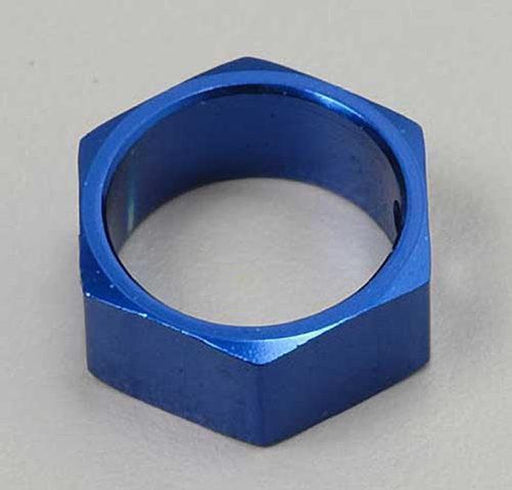Traxxas 4966X - Brake Adapter, Hex Aluminum (Blue) (Use With Hd Shafts)