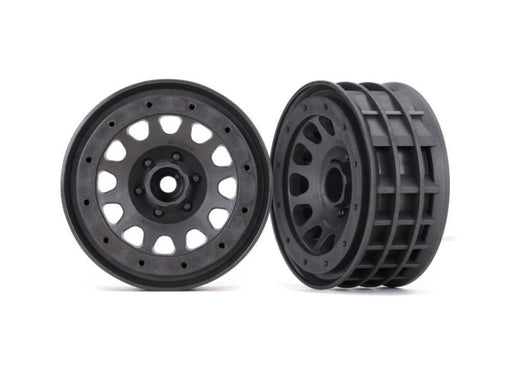 Traxxas 8171A - Wheels, Method 105 2.2' (Charcoal Gray, Beadlock) (Beadlock Rings Sold Separately)