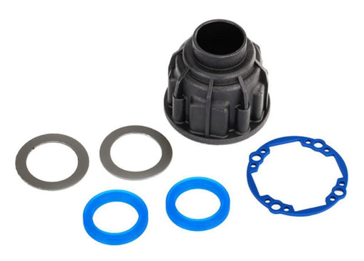 Traxxas 8581 - Carrier, Differential (Front Or Center)/ X-Ring Gaskets (2)/ Ring Gear Gasket/ 14.5X20 Tw (2)