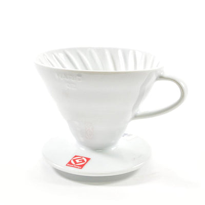 Hario V60 Ceramic Dripper 02 White هاريو في60