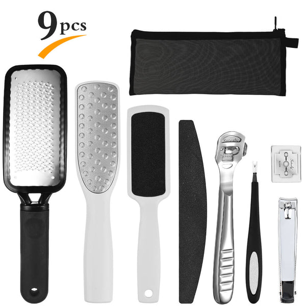 PrettySee 8 in 1 Pedicure Kit Professional Pedicure Tools Foot Rasp - PrettySee Beauty & Personal Care | Professional, High Quality | PrettySee