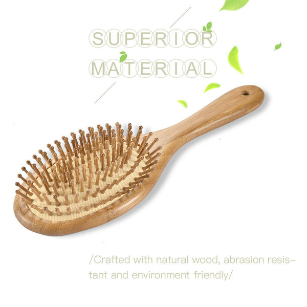 PrettySee Wooden Massage Comb Scalp Massage Brush Air Cushion Combs Anti-static Brushes - PrettySee Beauty & Personal Care | Professional, High Quality | PrettySee