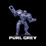 Purl Grey Metallic Acrylic Paint