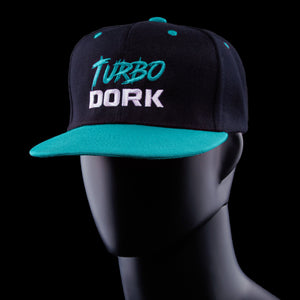Turbo Dork Standard Issue Logo Hat Teal (1 hat)
