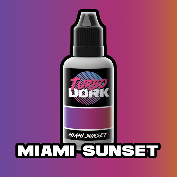 Miami Sunset Turboshift Acrylic Paint
