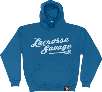 YOUTH CLASSIC MID WEIGHT HOODIES | SCRIPT LOGO - Lacrosse Savage