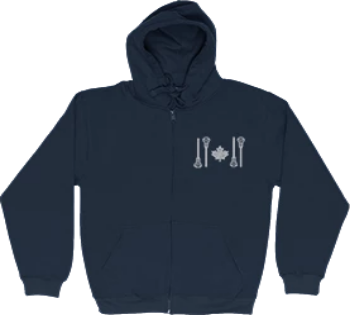 DELUXE ZIPPER HOODIES | OG LOGO - Lacrosse Savage