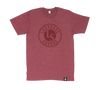 PREMIUM SOFT STYLE HEATHER TEES | OG LOGO | 10 COLOUR CHOICES - Lacrosse Savage