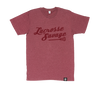 PREMIUM SOFT STYLE HEATHER TEES | SCRIPT LOGO | 10 COLOUR CHOICES - Lacrosse Savage