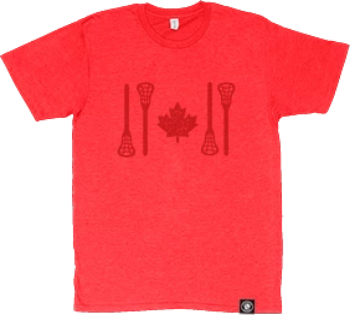PREMIUM SOFT STYLE HEATHER TEES | STICK FLAG LOGO | 10 COLOUR CHOICES - Lacrosse Savage