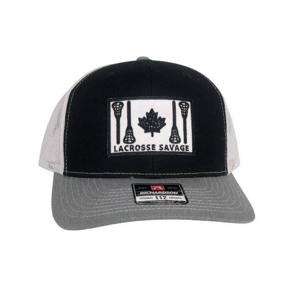 LAX SAV | RICHARDSON 112 Trucker Snapback Hat | 3 Black, Grey & White Options
