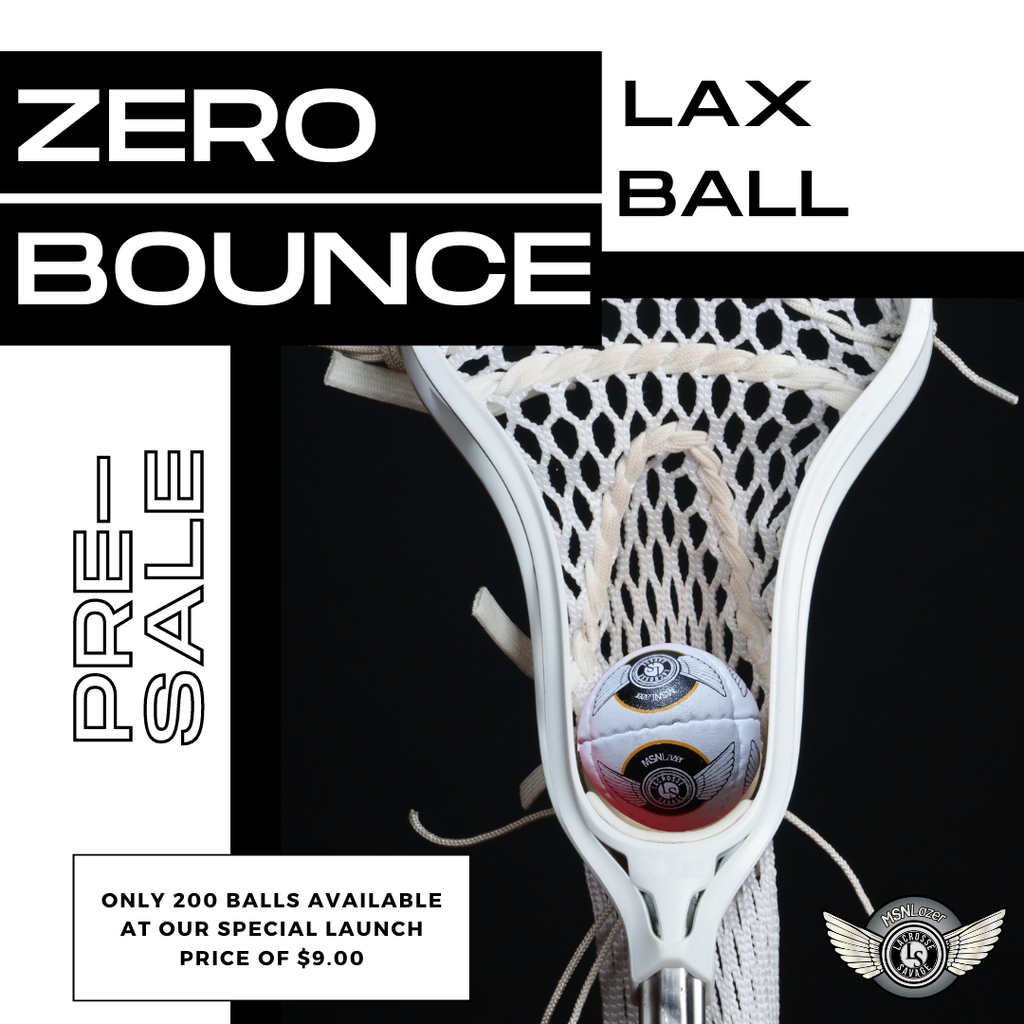 Zero bounce lacrosse ball presale, 200 balls at special $9 launch price
