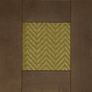 June Green Basketry Inserts for GRIMSLOV Brown