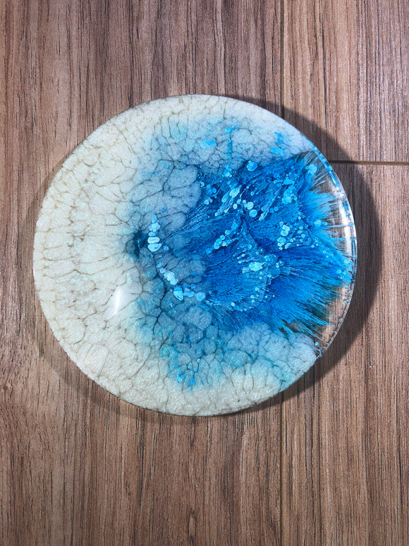 Soft Moon Resin Round