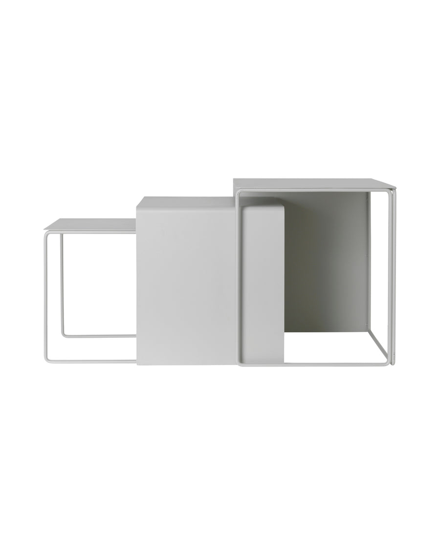 Cluster Tables Grey