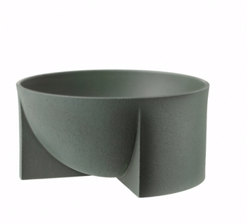 Kuru Bowl Ceramic 24cm Moss Green