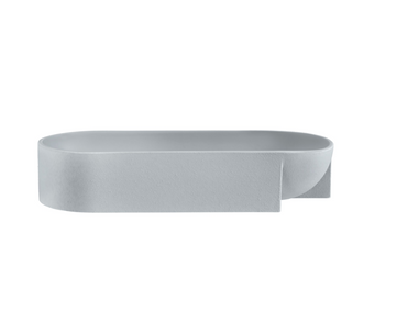 Kuru Bowl Ceramic 37cm Grey