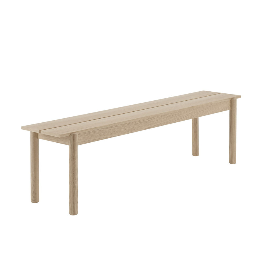 Linear Wood Bench