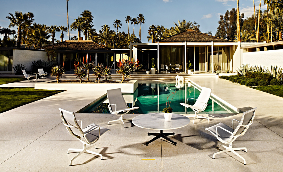 Eames® Aluminium Group Lounge Chair - Outdoor