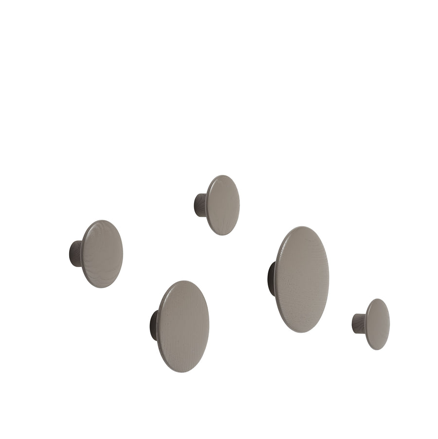 The Dots Wood Set Of 5