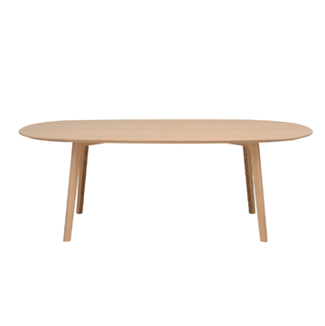 Roundish Dining Table