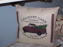 Load image into Gallery viewer, Country Lane Nursery, Christmas Pillow