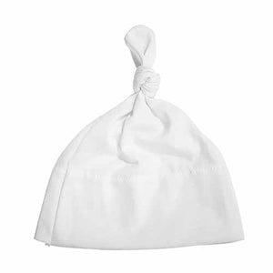 Knotted Baby Beanie Hat - Double-Sided