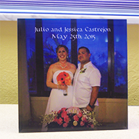 Personalized Photos on Glass. Glass Photo Panels